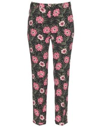 Asticon print straight leg trousers medium 397238
