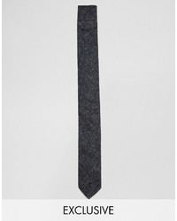 Reclaimed Vintage Tie In Black