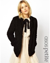 Asos Petite Fluffy Coatigan