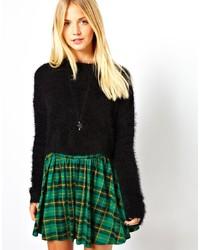 Asos Fluffy Crop Sweater