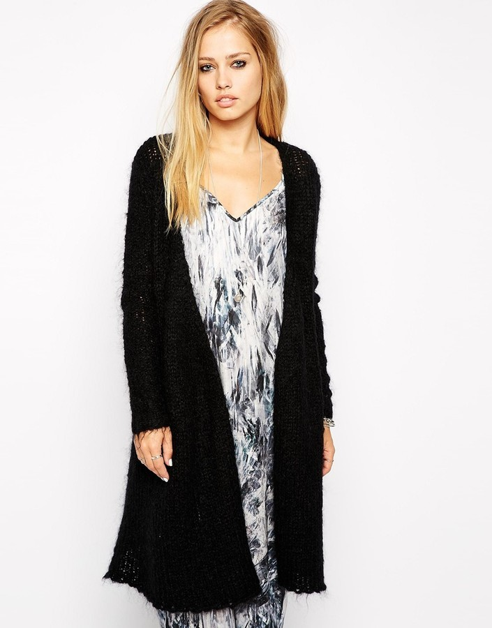 2nd Day Longline Cardigan In Mohair | Where to buy & how to wear