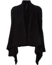 Fluffy draped cardigan medium 351273