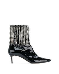 Christopher Kane Crystal Fringe Boots