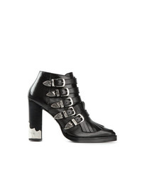 Toga Pulla Fringed Ankle Boots