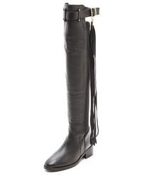 Kurt Geiger Kg Vixen Tall Tassle Boots
