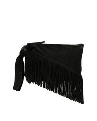 Isabel Marant Farwo Fringed Clutch Bag