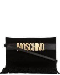 Moschino Logo Fringed Clutch