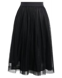 Roberto Collina A Line Skirt Black