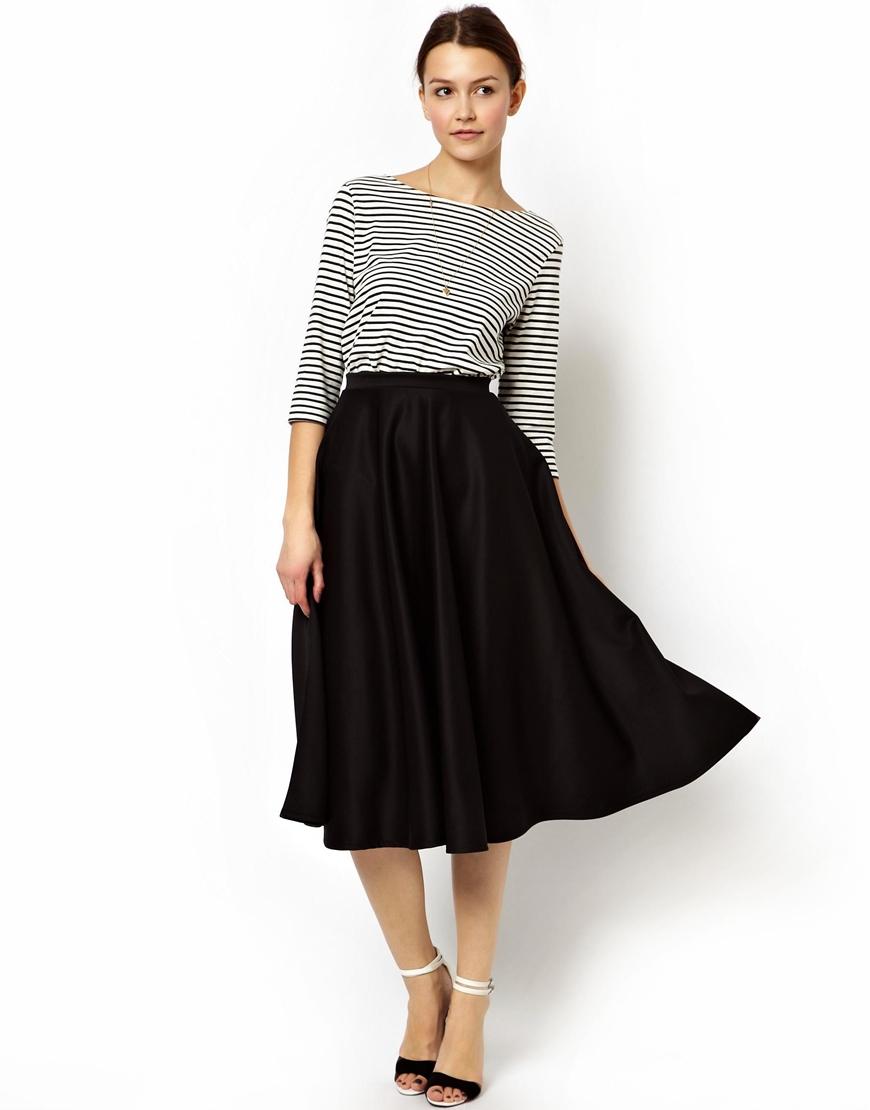 Midi Full Skirt Uk | Jill Dress