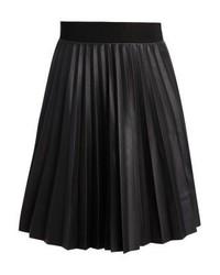 Rue de Femme Maddie Skirt Pleated Skirt Black