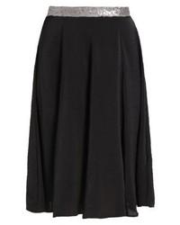 Anna Field Pleated Skirt Black