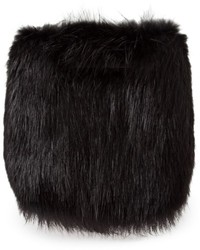 Balenciaga Beaver Fur Clutch