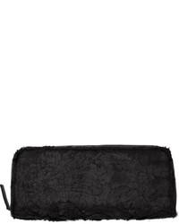 Fur zipped clutch medium 348617
