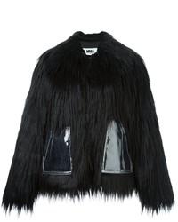 MM6 MAISON MARGIELA Faux Fur Short Coat