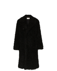 Saint Laurent Faux Shearling Coat