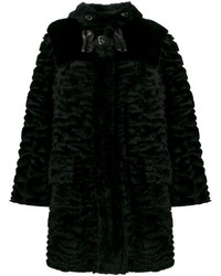 Fendi Fur Bow Buckle Coat