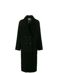Inès & Marèchal Ins Marchal Double Breasted Shearling Coat