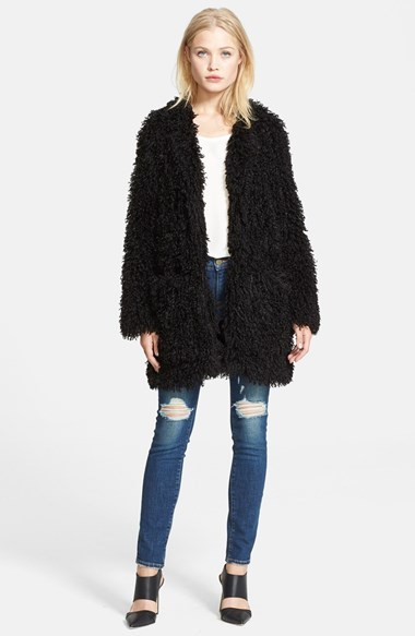 564cdc5d7 Smythe Mongolian Lamb Faux Fur Coat, £489 | Nordstrom | Lookastic UK