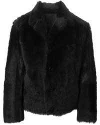 Reversible fur coat medium 137055