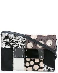 Jamin Puech Multi Pattern Crossbody Bag