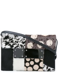 Multi pattern crossbody bag medium 830294
