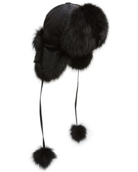 Kyi Kyi Genuine Fox Fur Trapper Hat