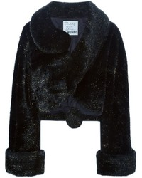 Moschino Vintage Artificial Fur Coat