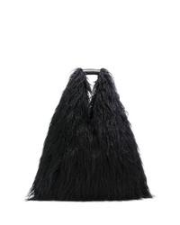 MM6 MAISON MARGIELA Faux Fur Shoulder Bag