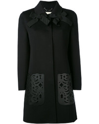 Fendi Laser Cut Coat