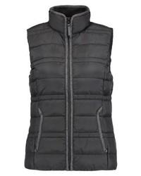 s.Oliver Outdoor Waistcoat Black