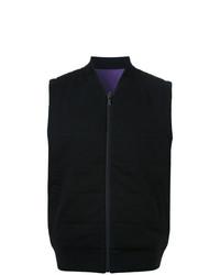 Kent & Curwen Reversible Puffer Vest Black