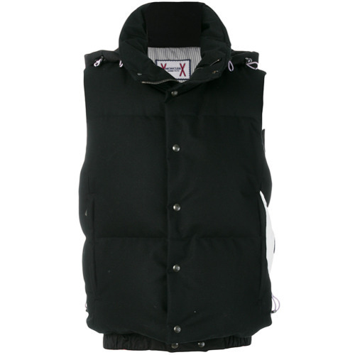 c66c22633 £1,178, Moncler Gamme Bleu Sleeveless Padded Jacket