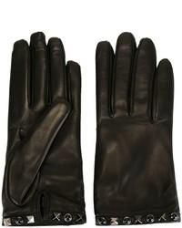 Valentino Rockstud Rolling Gloves