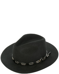 Ermanno Scervino Trim Detail Fedora Hat