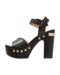 Moschino Platform Sandals Nero