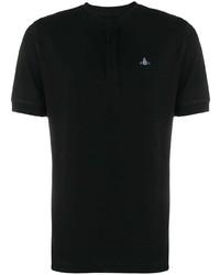 Vivienne Westwood Logo Collarless Polo Shirt