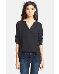 Ace Delivery Long Sleeve Henley Shirt