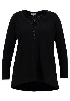 Zizzi Long Sleeved Top Black
