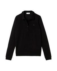 Lacoste Long Sleeved Top Noir