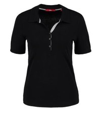 s.Oliver Polo Shirt Black