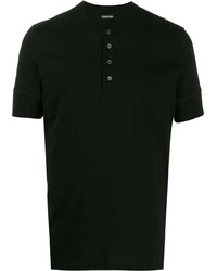 Tom Ford Short Sleeves Buttoned T Shirt