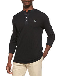 Black Henley Sweater