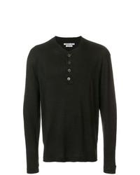 Common Wild Button Detail Sweater