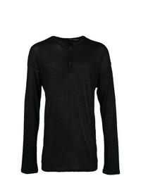 Isabel Benenato Half Button Sweater