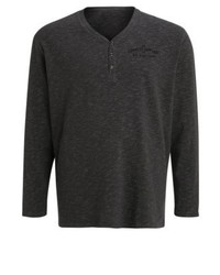 s.Oliver Long Sleeved Top Dark Pond Melange