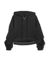 The Range Cropped Terry Hoodie
