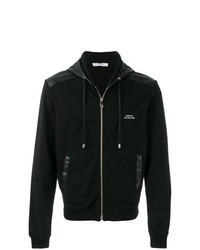 Versace Collection Two Tone Zipped Hoodie