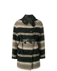 Isabel Marant Hilda Striped Coat