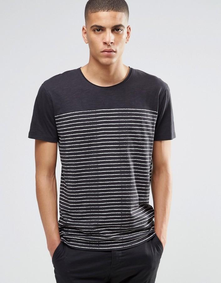 tee shirt breton homme