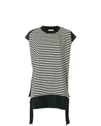 Moncler Striped Short Sleeve T Shirt